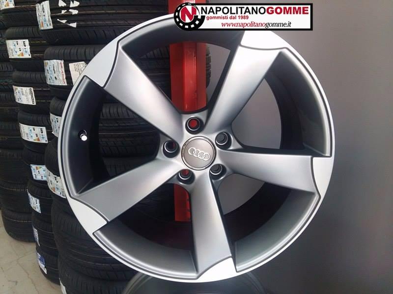 Cerchi Rotor Audi A3 A4 A6 Q3 Tt S3 17 Pollici